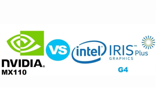 NVIDIA GeForce MX110 vs Intel Iris Plus G4 – there's no clear winner here