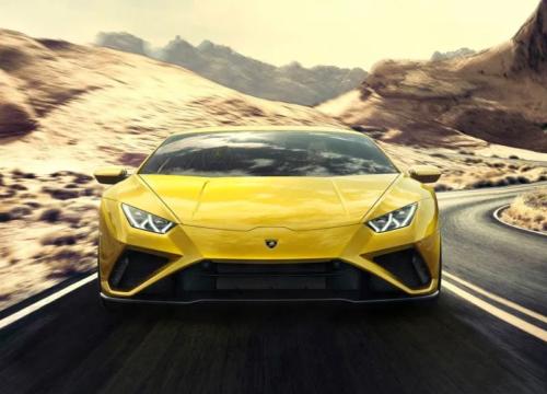 2020 Lamborghini Huracán Evo, Now with 30 Percent More Oversteer
