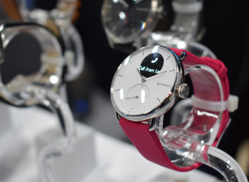 Withings ScanWatch first look: A smartwatch that can detect sleep apnea
