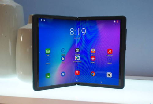 TCL foldable phone hands-on: A prototype with promise