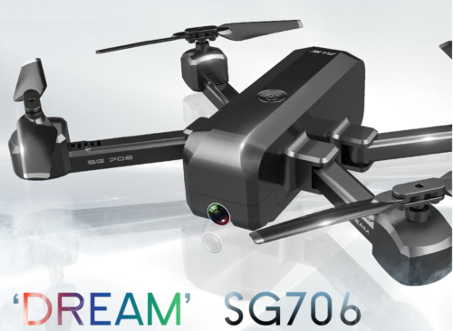 SG706 4K RC Drone Review: A Dual Camera Optical Flow Positioning Image Follow APP Gesture Control Foldable Quadcopter