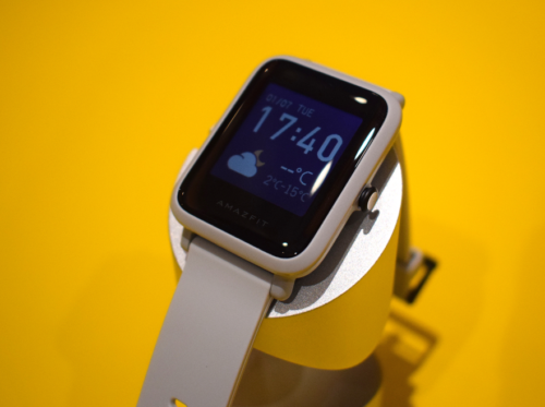 Amazfit Bip S first look: Huami's budget Apple Watch imitator gets pool-ready