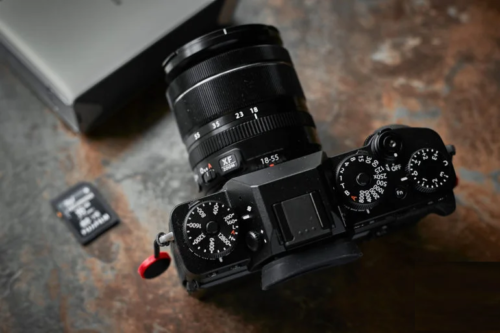 The mirrorless Fujifilm X-T4 camera brings a stabilized sensor for the first time