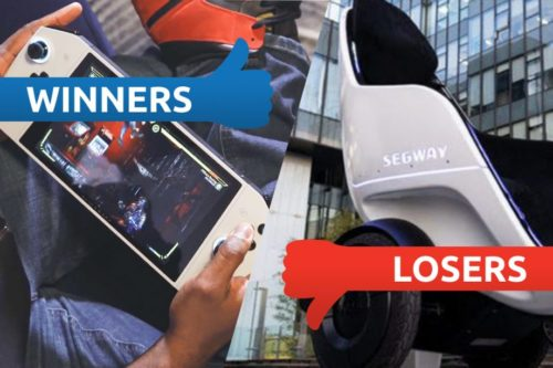 Winners and Losers: A Segway smash and a fantastic UFO lands
