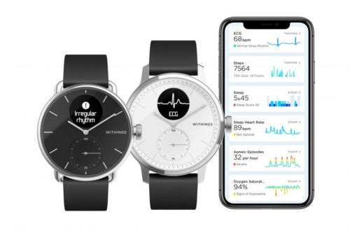 Withings' next watch can give you an electrocardiogram | CES 2020