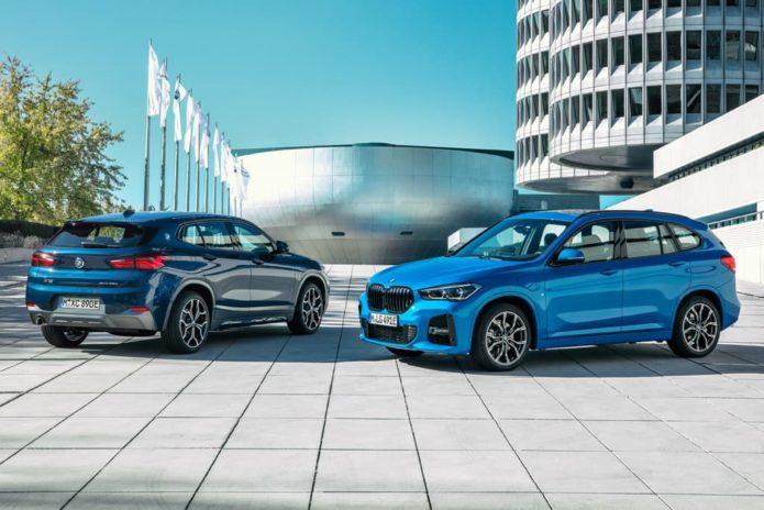 BMW X2 plug-in hybrid revealed