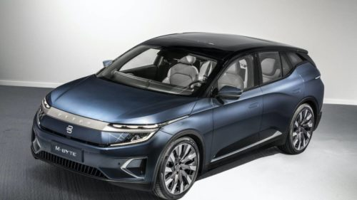 Byton M-Byte e-SUV reveals the reason for its 48-inch dash display