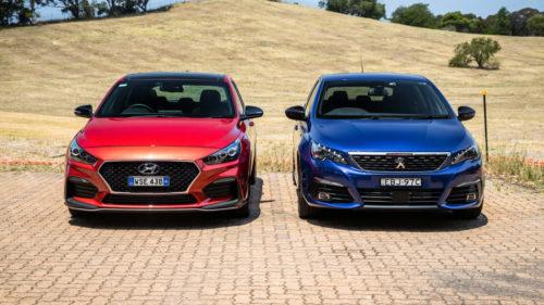 Korea v France: Warm-hatch wrestling match – 2020 Hyundai i30 N Line Premium v Peugeot 308 GT
