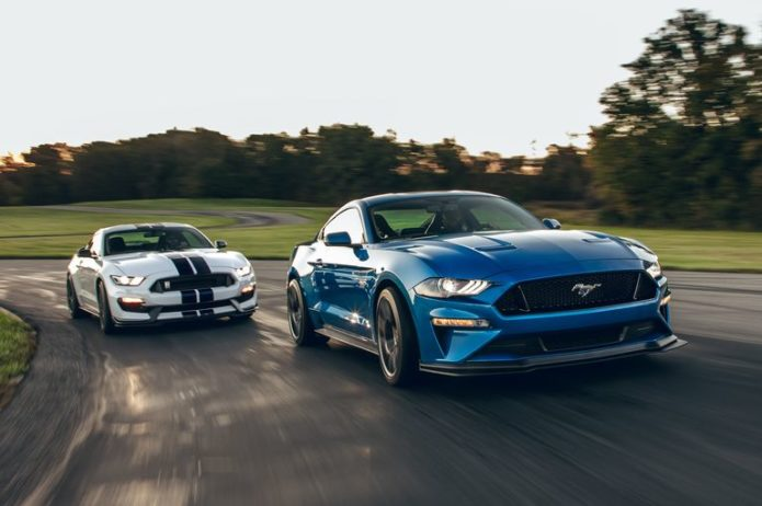 2019 Ford Mustang GT Performance Pack Level 2 vs. 2019 Ford Mustang Shelby GT350: Which Is the Better Track-Day Toy?
