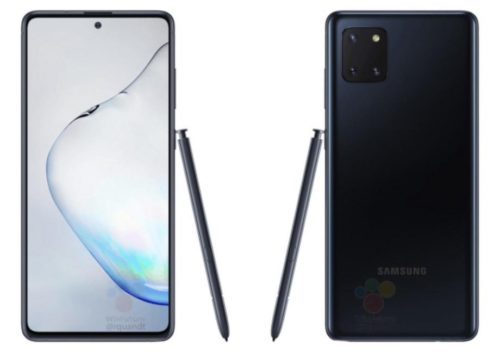 Alleged Samsung Galaxy Note 10 Lite images reveal triple rear camera