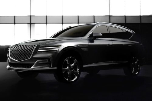 Genesis GV80 SUV officially revealed
