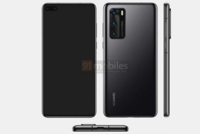 Huawei P40 leak proves it's all about the cameras – again