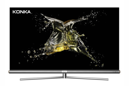Relative unknown Konka jumps into the U.S. TV market with quantum dot and OLED models