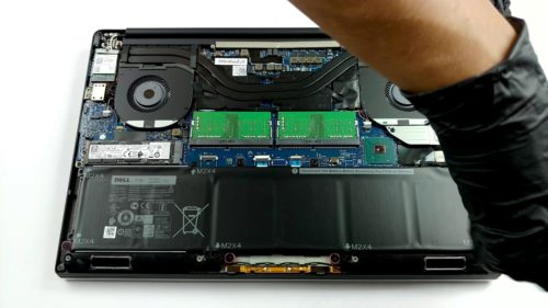 Inside Dell XPS 15 7590 – disassembly and upgrade options