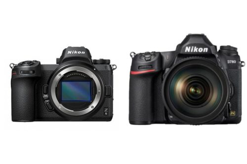 Nikon D780 vs Nikon Z6 Specifications Comparison