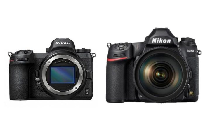 Nikon D780 vs Nikon Z6 Specifications Comparison