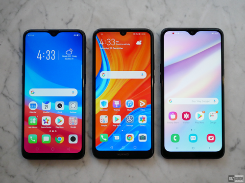 Huawei Y6S vs Samsung Galaxy A10s vs OPPO A5s: Which budget phone should you get?