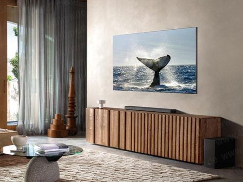 Samsung frameless TV photos leak, could be first to get 8K certification