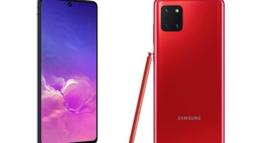 Samsung Galaxy S10 Lite and Note 10 Lite official