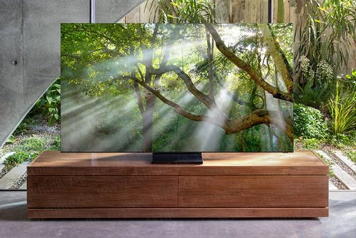 Samsung is bringing a 'Zero Bezel' 8K TV to CES and this could be the first pic