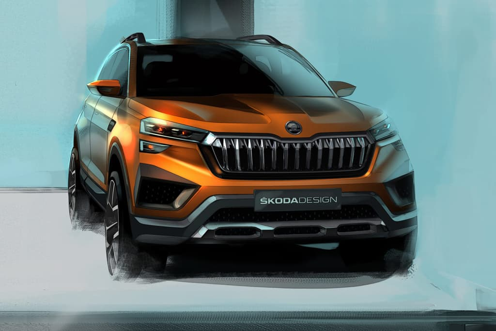 Skoda Vision IN concept busts out