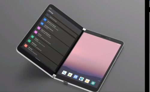 Forget Surface Duo – Microsoft is mulling a triple-screen phone (kind of)
