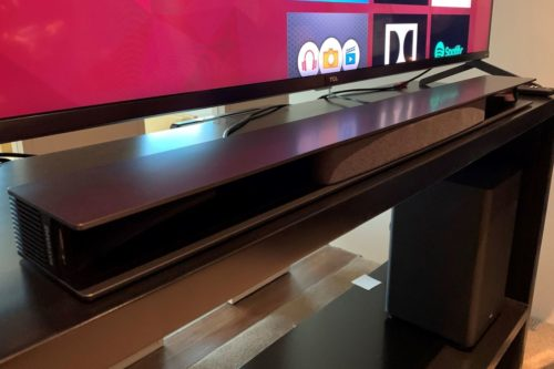 TCL's impressive 3.1-channel Dolby Atmos soundbar is on track for 'early' 2020