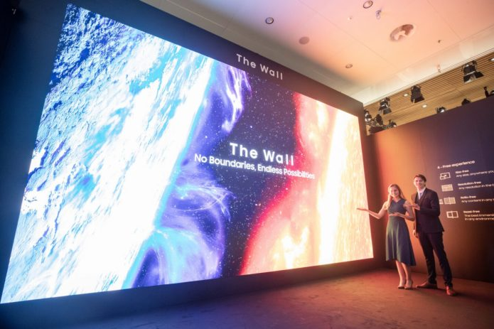 ISE 2020: Samsung now has a 583-inch 8K microLED version of The Wall