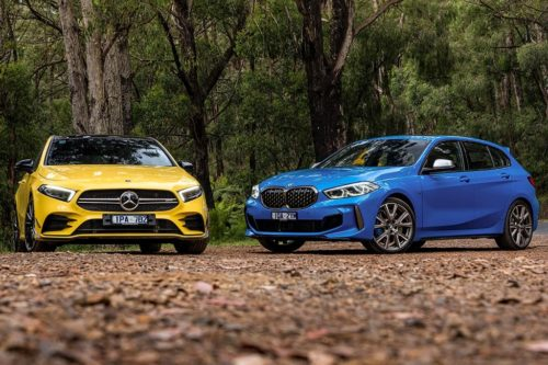 BMW M135i xDrive v Mercedes-AMG A 35 4MATIC 2020 Comparison