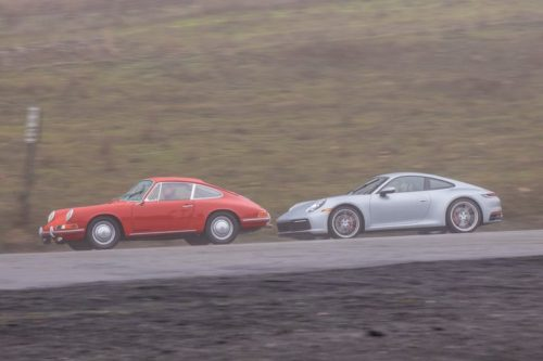 Defining the Porsche 911: New vs. Old