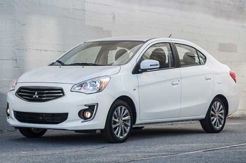 2020 Mitsubishi Mirage G4 Review