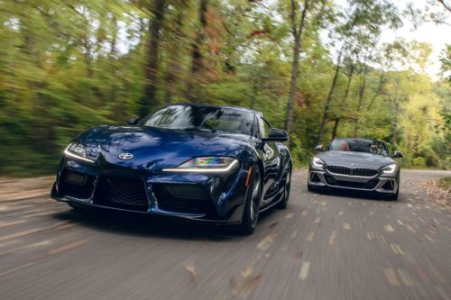 Stepsibling Rivalry: 2020 BMW Z4 M40i vs. 2020 Toyota Supra
