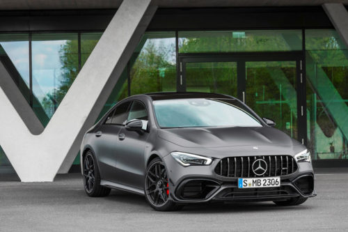 2020 Mercedes-AMG CLA45 review