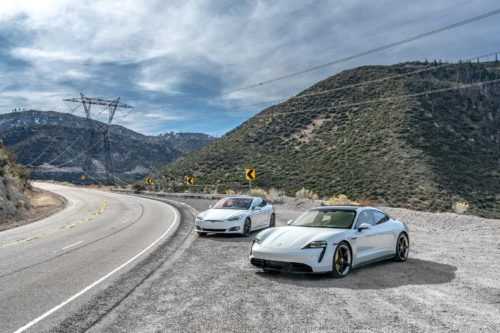 Porsche Taycan Turbo S vs. Tesla Model S Performance: Electric Flattery