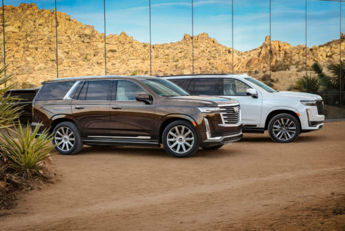 The 2021 Cadillac Escalade Revealed: Big Screen, Big Sound, Big Grille