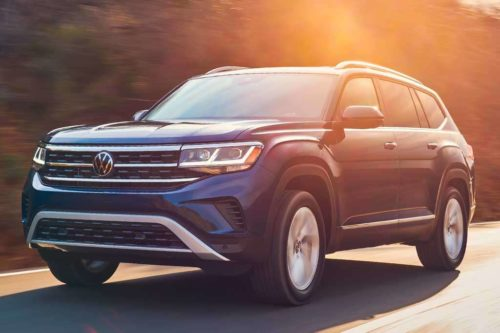 2021 Volkswagen Atlas: First Look