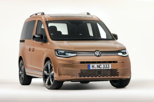 New Volkswagen Caddy launched