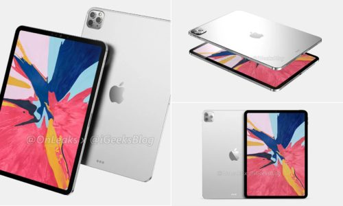 iPad Pro 2020 Appeared: Rear Three Cameras, Face ID