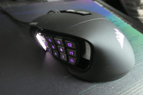 Corsair Scimitar RGB Elite Mouse Review