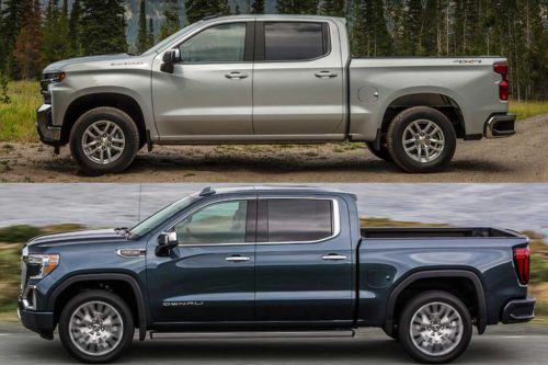 2020 Chevrolet Silverado vs. 2020 GMC Sierra: What's the Difference?