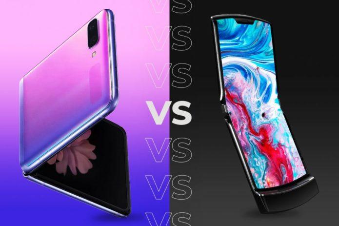 Samsung Galaxy Z Flip vs Motorola Razr: Flip phone face off