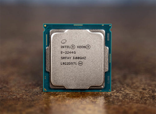 Intel Xeon E-2244G Benchmarks and Review