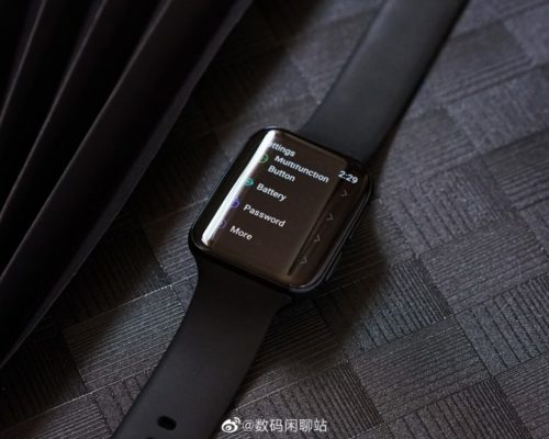 Oppo's Apple Watch rival might be the best-looking Wear watch yet