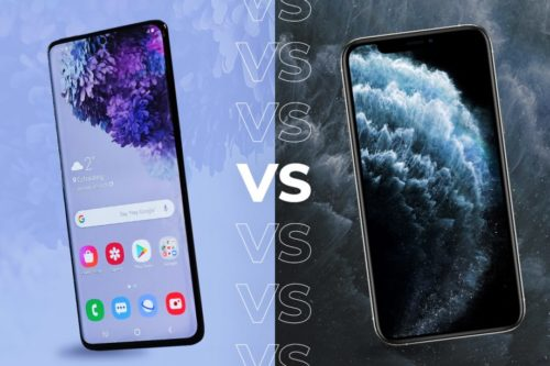 Samsung Galaxy S20 Ultra vs Apple iPhone 11 Pro