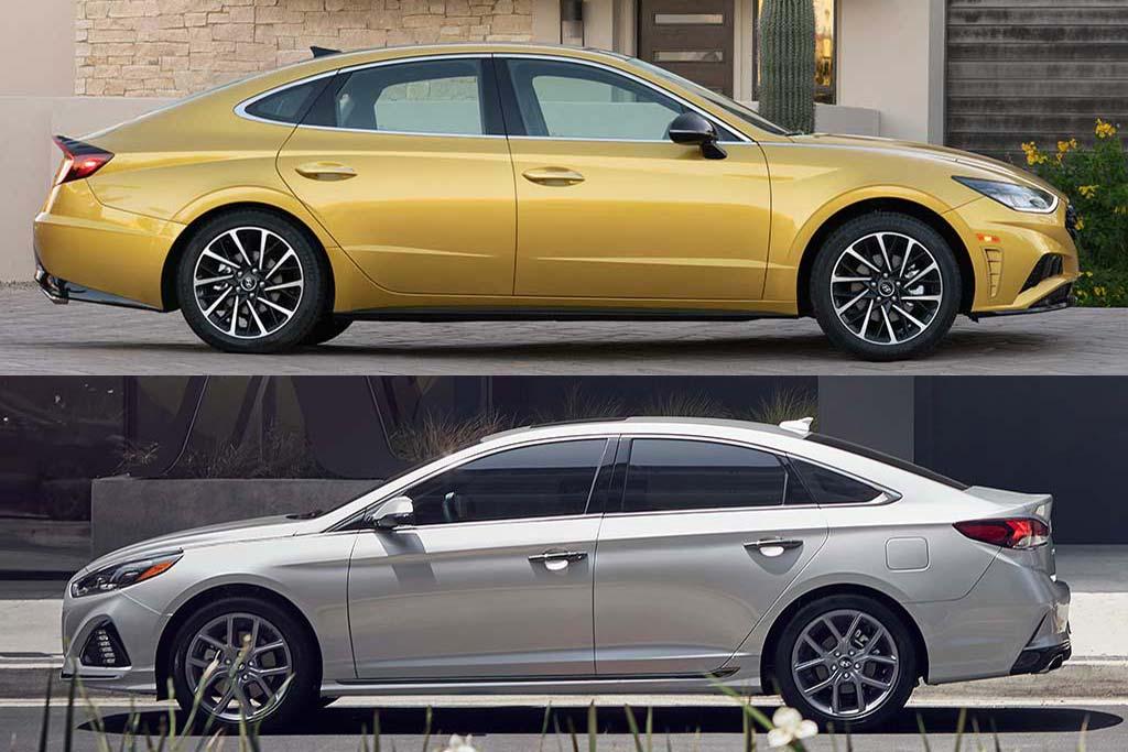 2019 vs. 2020 Hyundai Sonata