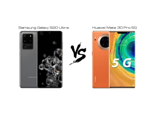 Samsung Galaxy S20 Ultra Vs Huawei Mate 30 Pro 5G: A Comparison