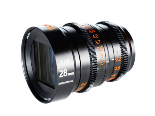 Vazen 28mm t/2.2 1.8x Anamorphic Lens for Micro Four Thirds