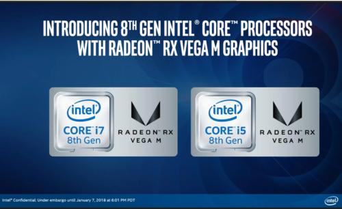 AMD Radeon RX Vega M (Vega 870, 4GB HBM2) GL vs GTX 1050 Max-Q – the AMD iGPU is 18% faster than the green dedicated graphics