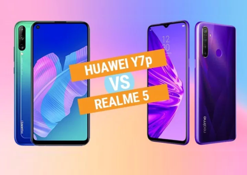 Huawei Y7p vs Realme 5 Specs Comparison