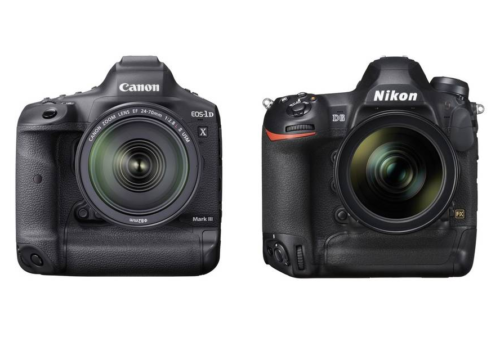 Canon EOS-1D X Mark III vs Nikon D6 Specifications Comparison